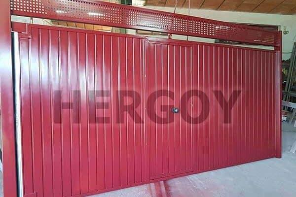 Puertas de Garajes Comerciales e Industriales - Hergoy Cerrajeros