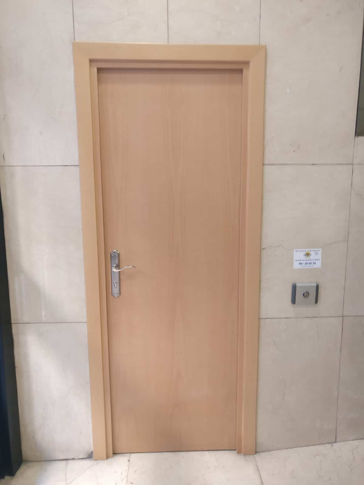 Puertas Cortafuegos de Madera - Hergoy Cerrajeros