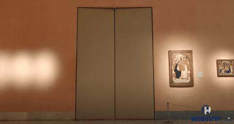 Puerta cortafuegos de grandes dimensiones