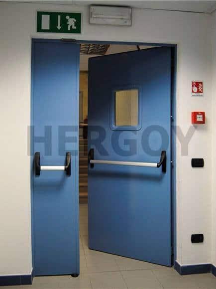 Instalación de Puertas Cortafuegos en Madrid - Hergoy Cerrajeros