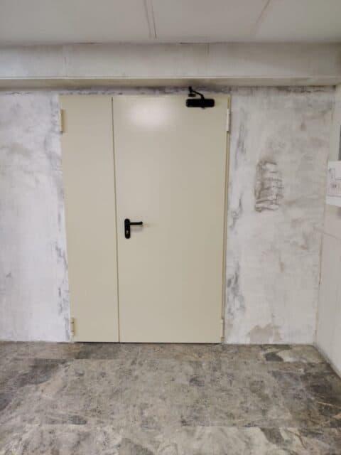 Instalación de Puertas Cortafuegos a Medida - Hergoy Cerrajeros