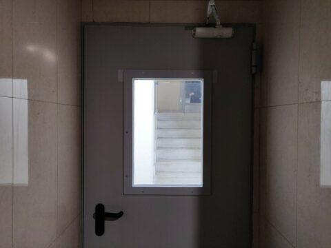 Puertas Cortafuegos con Mirilla - Hergoy Cerrajeros